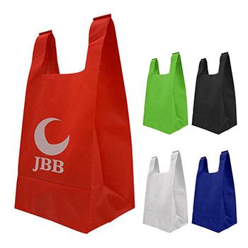Reusable T Shirt Style Non Woven Tote Bag