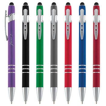 Black or Blue Ink Ander Incline Stylus Pen