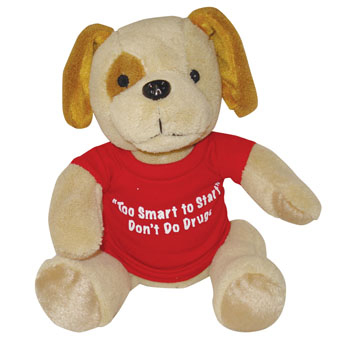 "10"" Stuffed Spot Dog"