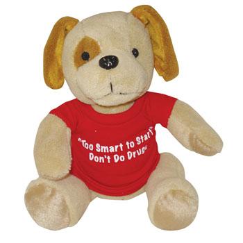 "10"" Stuffed Spot Dog"