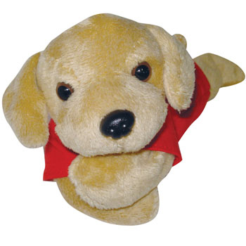 "8"" Golden Retriever Beanie"