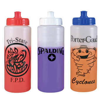 Mood Sports Bottle With Push/Pull Lid