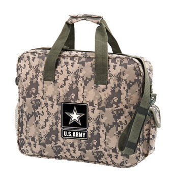 Camo Brief Bag