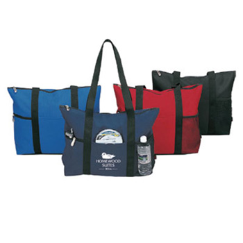 Deluxe Zipper Travel Tote