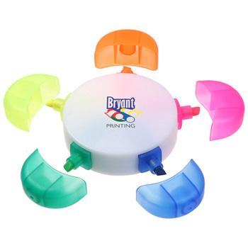 Five Multicolor Highlighter