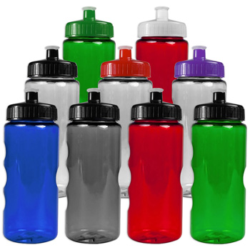 22 oz. Mini Mountain Bottle With Push/Pull Lid