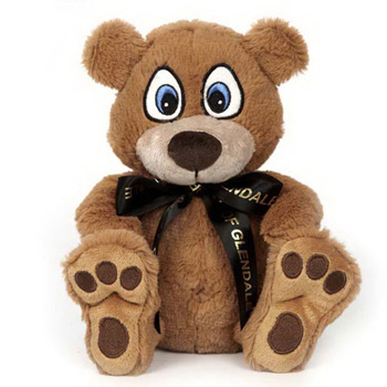 "10"" Big Paw Honey Bear"