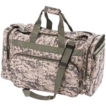 Deluxe Camo Duffel  Bag
