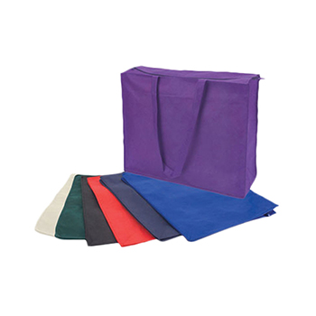 Non Woven Zippered Large Tote Bag