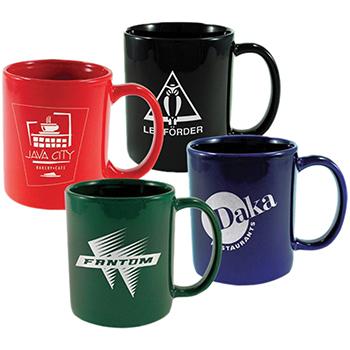 11 oz Cafe' Mug Color