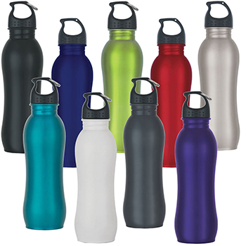 25 oz Stainless Steel Grip Bottle