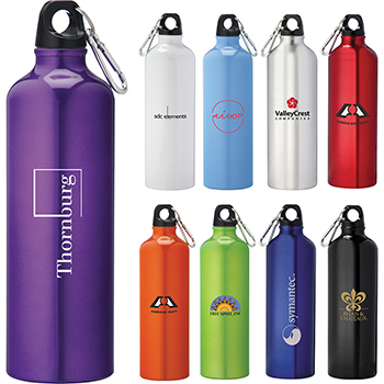 Pacific 26 oz Aluminum Sports Bottle