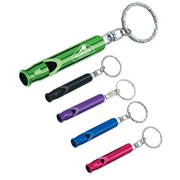 Metal Whistle / Key Ring