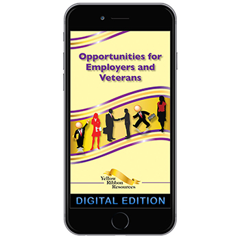 Digital Yellow Ribbon Program Booklet : Opportunities for Employers and Veterans