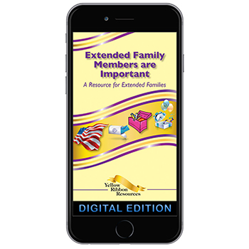 Digital Yellow Ribbon Program Booklet:  Extended Family Members Are Important