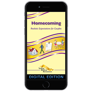 Digital Yellow Ribbon Program Booklet: Homecoming: Realistic Expectations for Couples