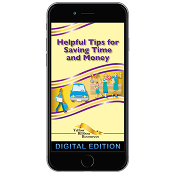 Digital Yellow Ribbon Program Booklet: Helpful Tips for Saving Time and Money