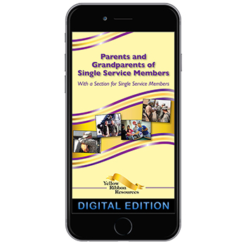 Digital Yellow Ribbon Program Booklet: Parents and Grandparents of Single Service Members