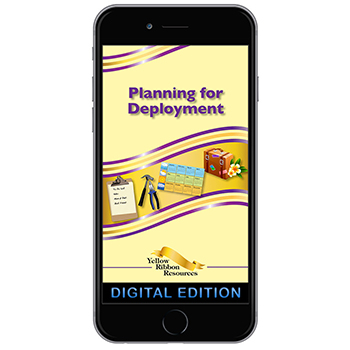 Digital Yellow Ribbon Program Booklet: Planning for Deployment