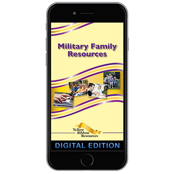 Digital Ribbon Yellow Ribbon Program Booklet: Military Family Resources