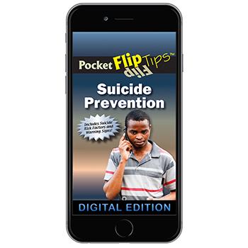Digital Flip Tip Book: Suicide Prevention