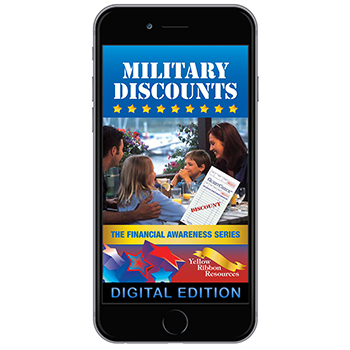 Digital Yellow Ribbon Financial Awareness Booklet: Military Discounts