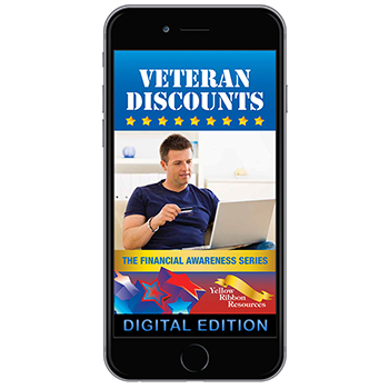 Digital Yellow Ribbon Financial Awareness Booklet: Veteran Discounts