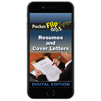 Digital Flip Tip Book: Resumes and Cover Letters