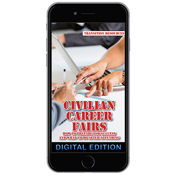 Digital Transition Resources Booklet:  Civilian Career Fairs