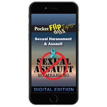 Digital Flip Tip Book:  Sexual Harassment & Assault