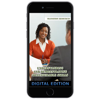 Digital Flip Tip Book: Transition Resources Booklet:Understanding and Demonstrating Transferable Skills