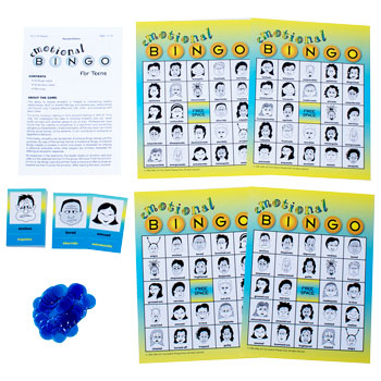 Emotional Bingo for Teens (English & Spanish)